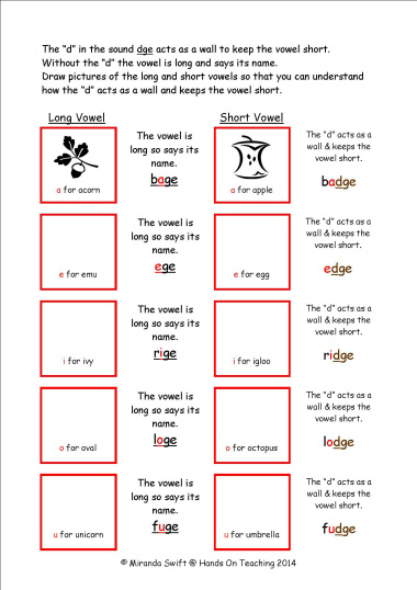 Trigraph Worksheets
